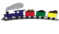 colorful_choochoo_train_going_over_a_hill_0515-0909-0815-4356_SMU